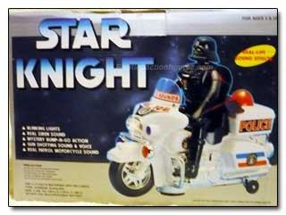 Darth Vader the Traffic Cop