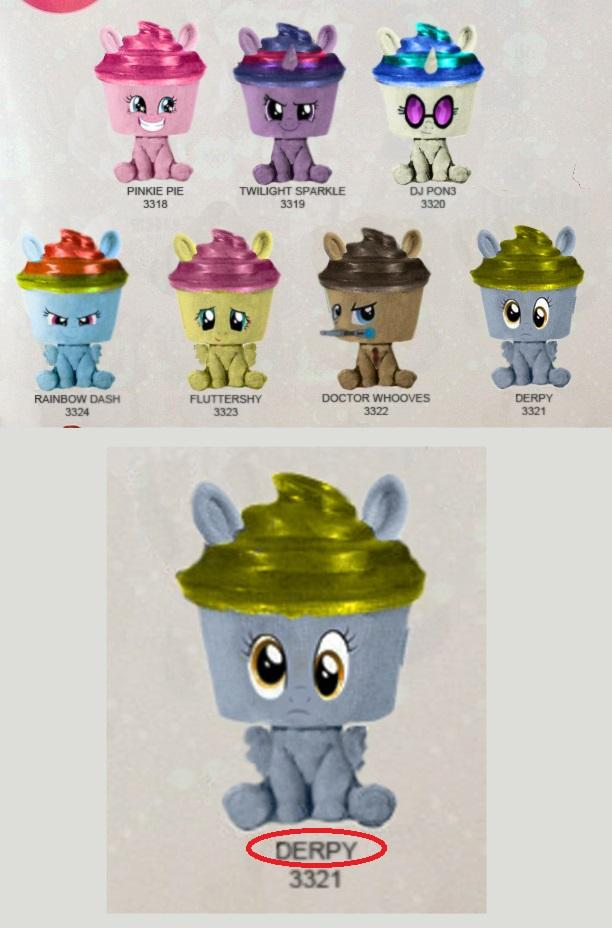 Funko Cupcake Keepsakes Derpy And Others