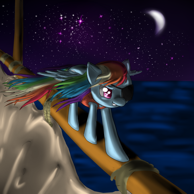 Pirate Rainbow Dash