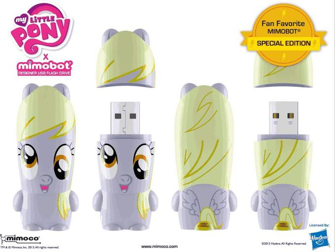 2013 Special Limited Edition Derpy Mimobot