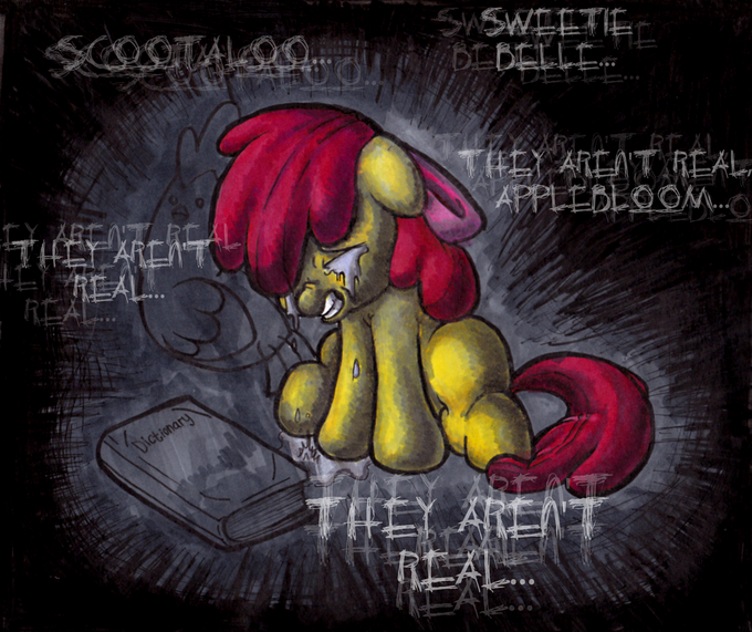 They Aren't Real Applebloom