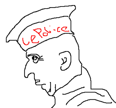 Armored Jean-Claude poorly drawned