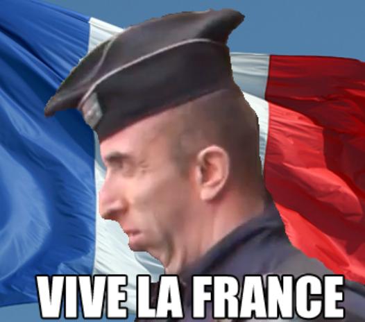 Armored Jean-Claude - Vive la France