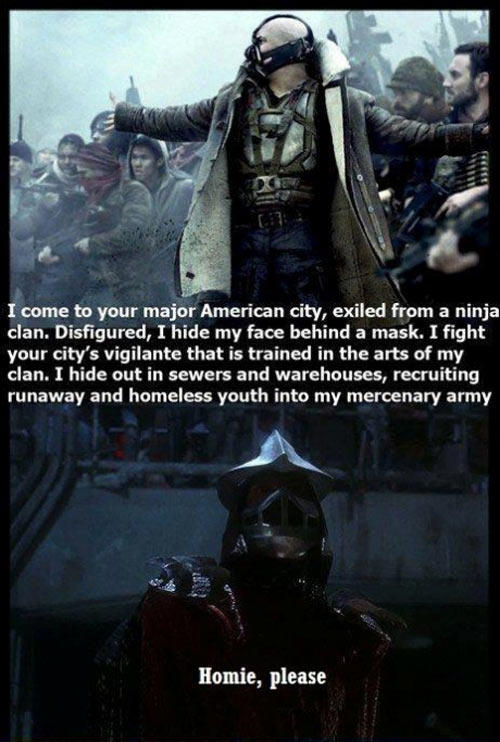 Before Bane There Was Shredder