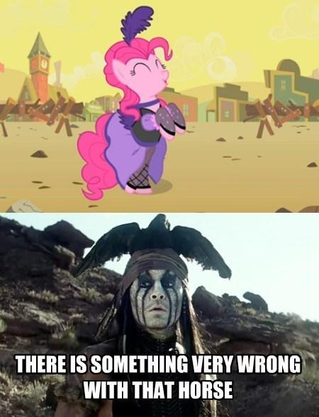 a4e a horse that changes clothes and appears out of nowhere, sounds,The Lone Ranger Meme