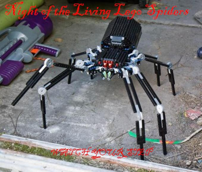 Night of the Living Lego Spiders