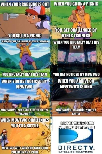 Don't let Mewtwo take your pokemon.