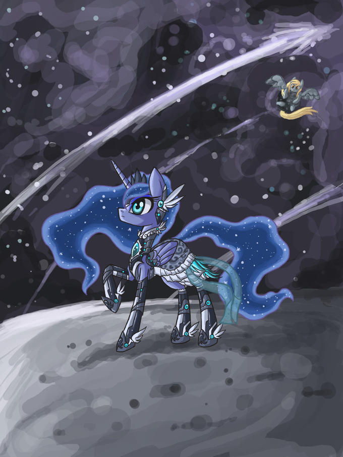 Fancy Space Princess Luna
