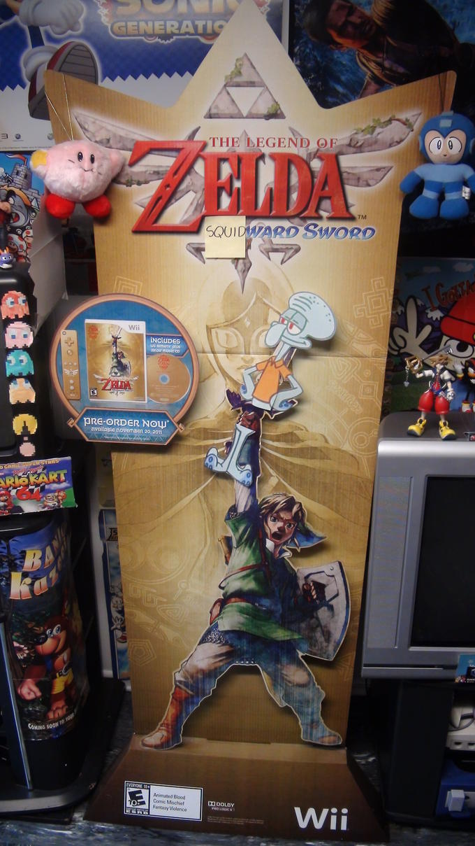 The Legend of Zelda: Squidward Sword