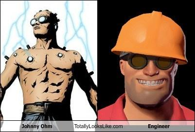 Johnny Ohm Totally Looks Like Engineer