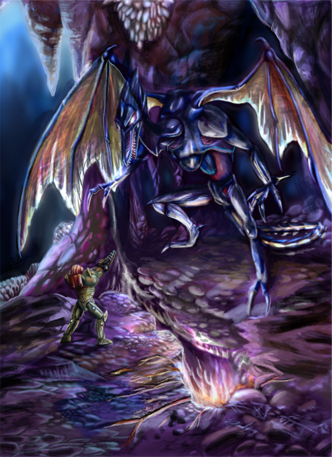 Metroid - Samus vs. Ridley