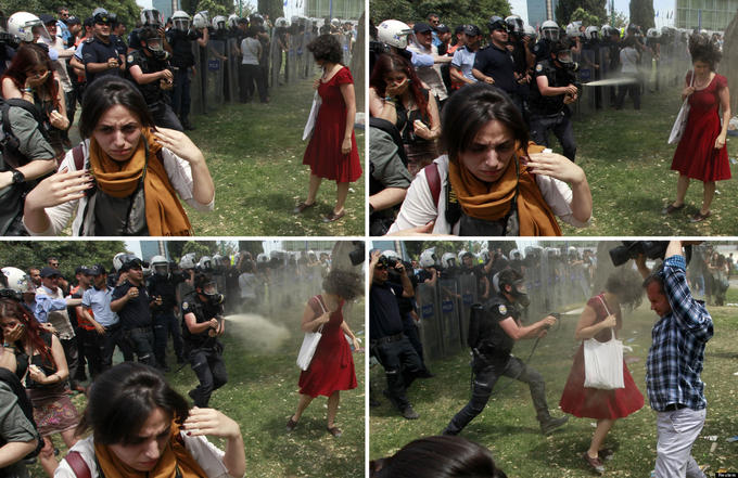 Turkish version of C.P.S.E.C. at the start of Gezi Park events