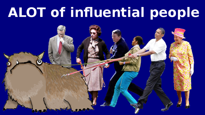 Alot of influential people