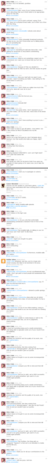 Phil Fish Tweets