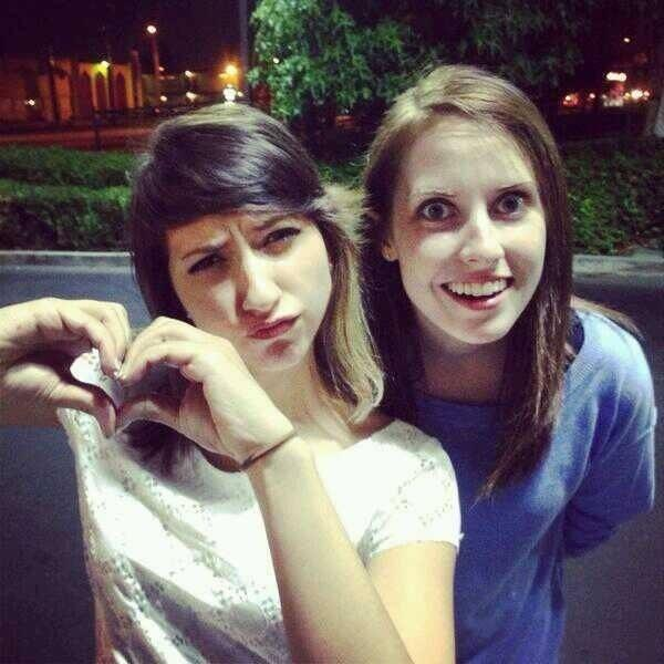 Boxxy meets Overly Attached Girlfriend