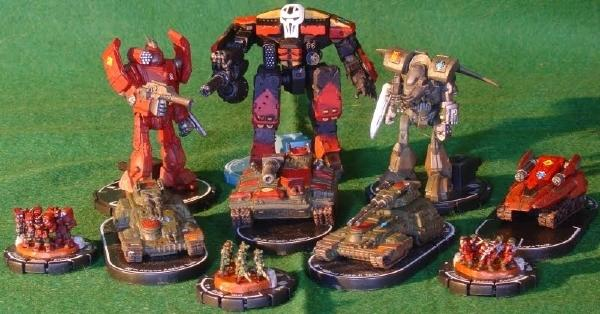 MechWarrior: Dark Age/Age of Destruction Clix miniatures