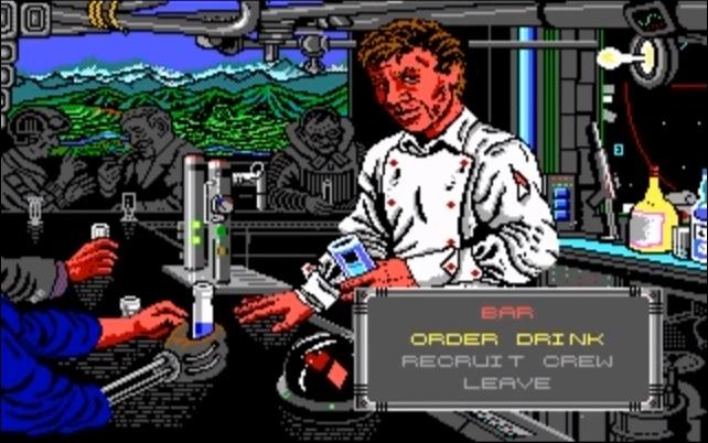 MechWarrior MS-DOS Bartended