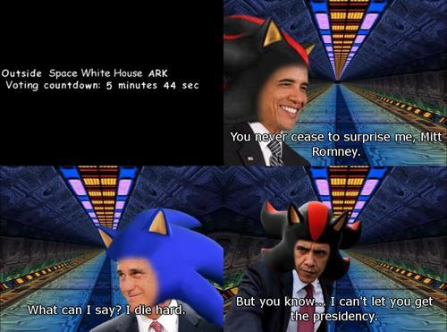 The 2012 Election - Sonic Adventure 2 style