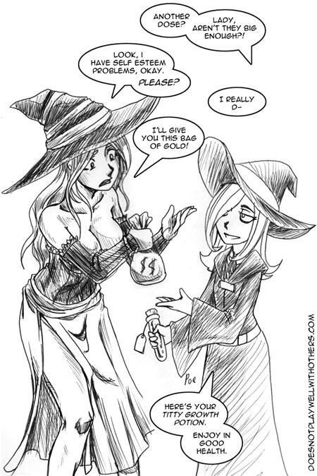 The Truth Behind the Sorceress