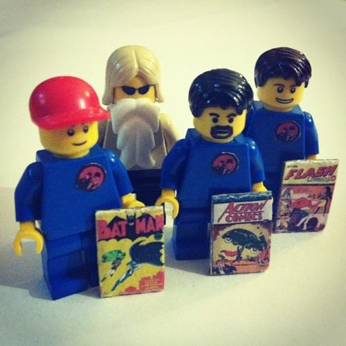 COMIC BOOK FIGS!