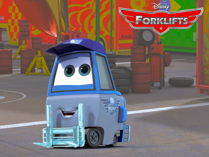 Disney's Forklifts