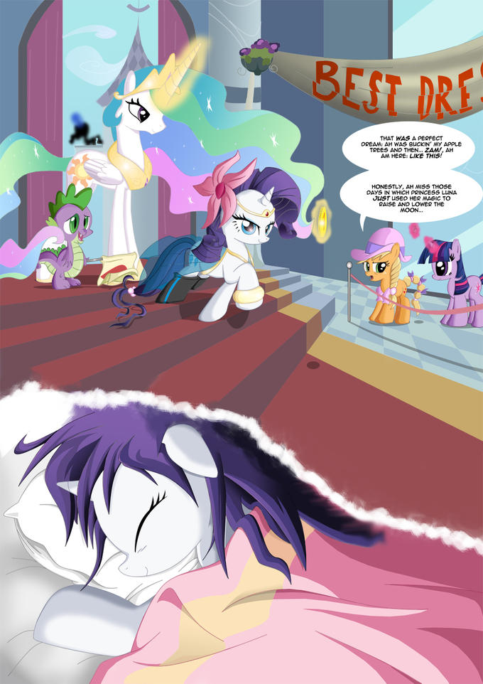 Rarity's Biggest Dream