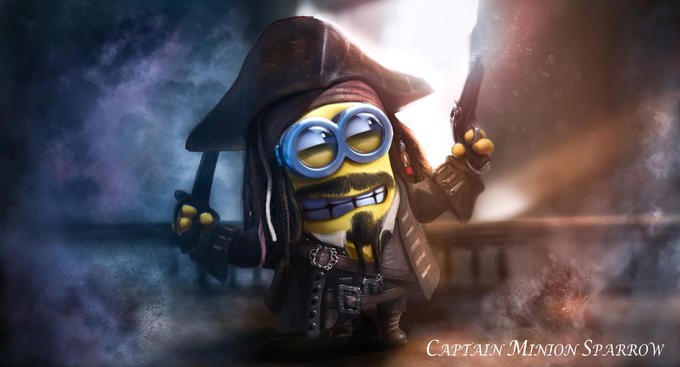 Captain Minion Sparrow