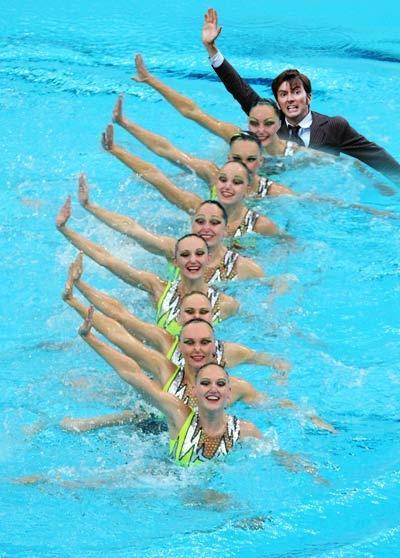 TARDIS Swim Team