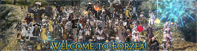 Official FFXIV Website Launch