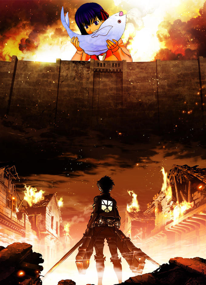 Attack on Sakurafish