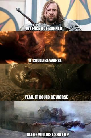 The ranking of Burning