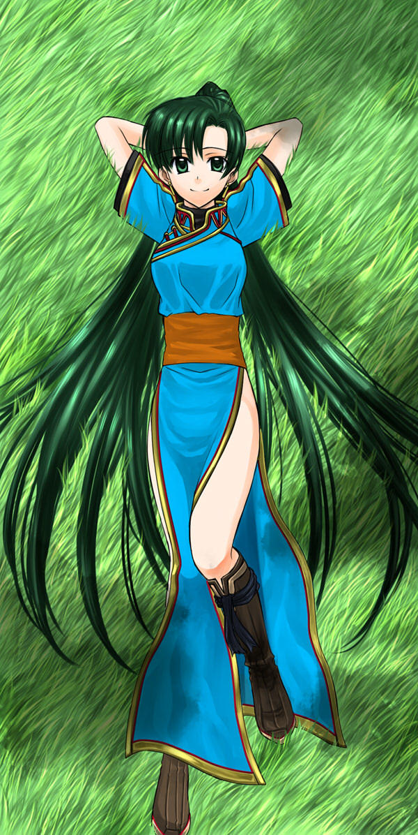 Lyndis Laying in the Grass