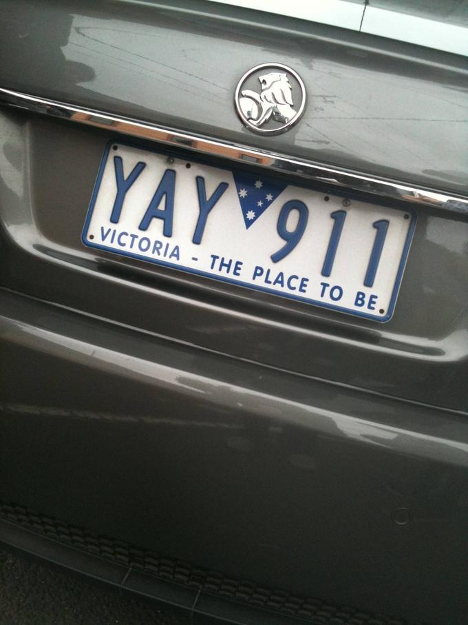 Shamelessly Offensive 9/11 License Plate