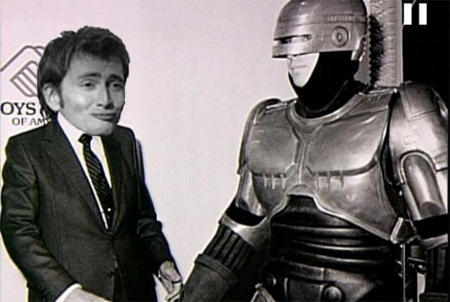 President Tennant meets Robocop