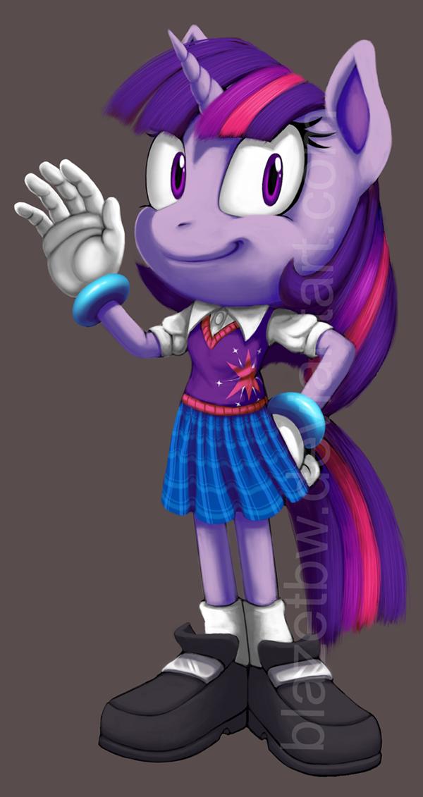 Sonic Style Ponies
