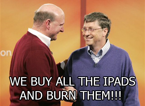 Microsoft Is Buying iPads