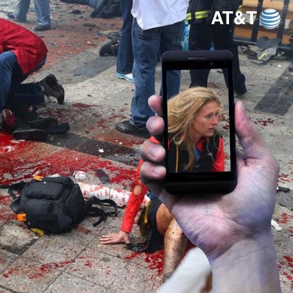 AT&T Remembers The Boston Marathon Bombing