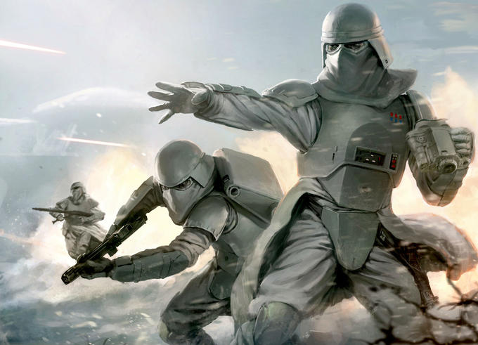 Imperial Snow Troopers