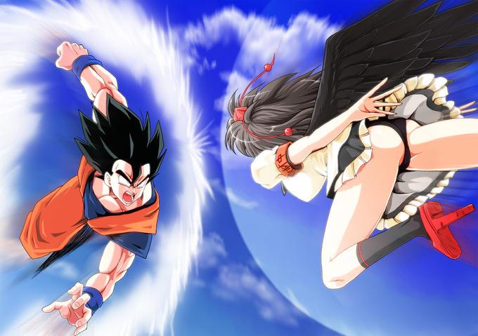 Goku vs. Aya Shameimaru