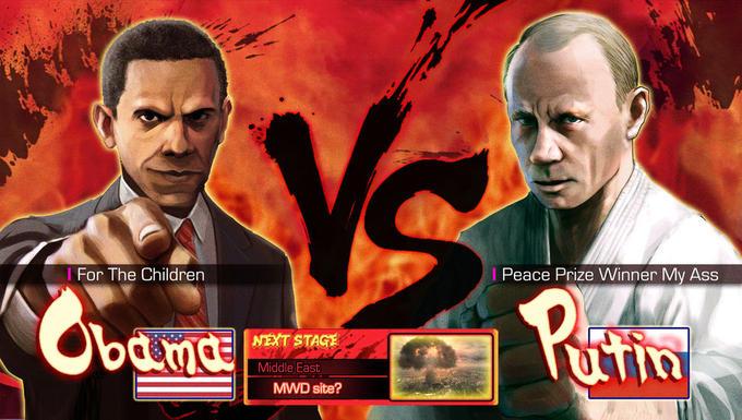 Obama vs. Putin