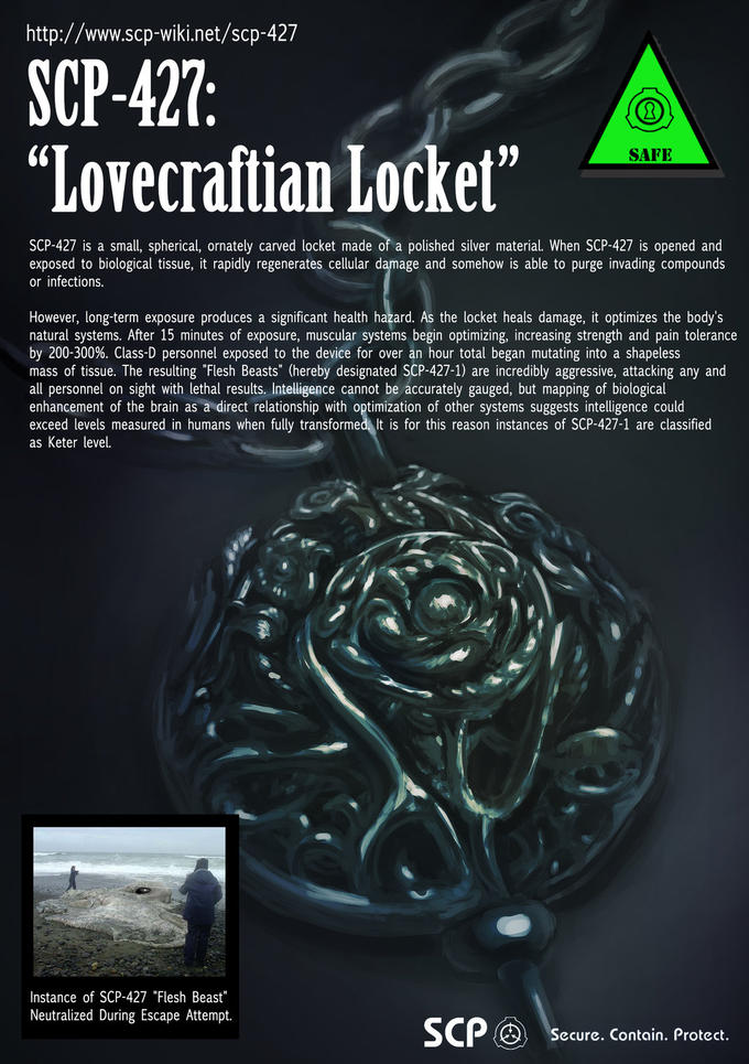 SCP-427: Lovecraftian Locket