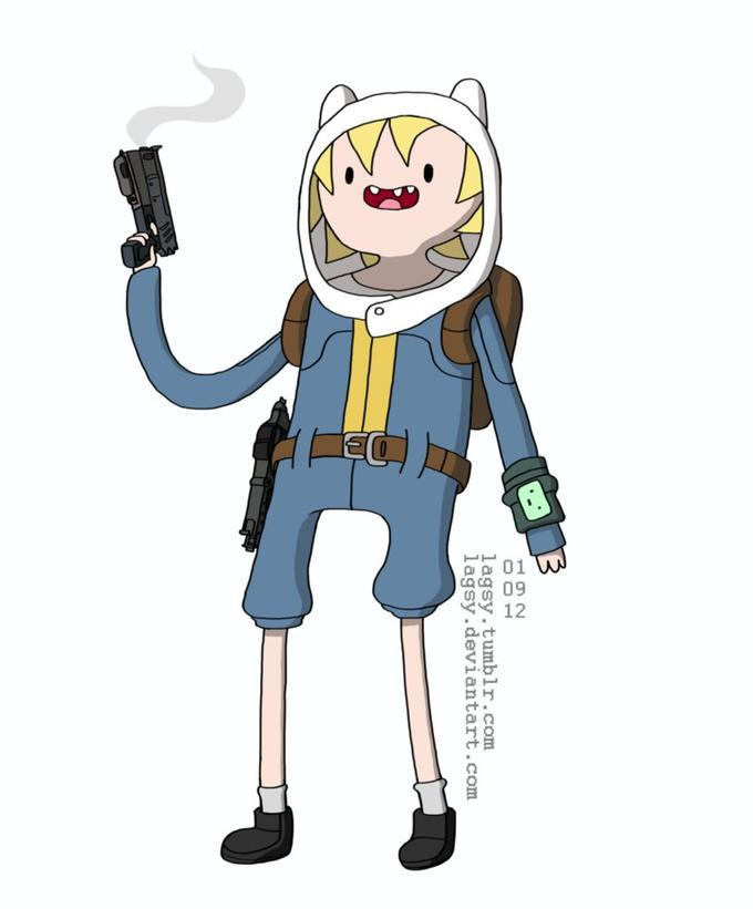 Finn the Vault Boy