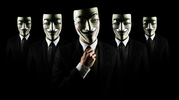 Anonymous Group Wallpaper