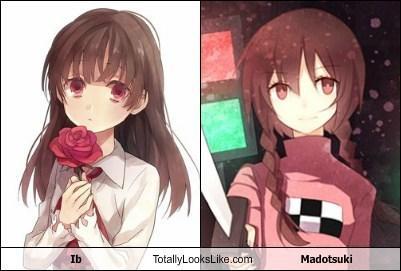 Ib Totally Looks Like Madotsuki