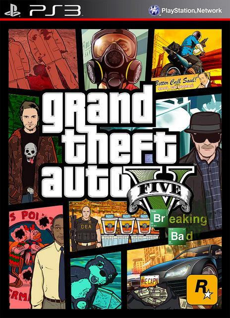 Grand Theft Auto Breaking Bad