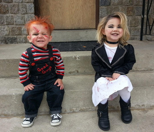 90d chucky & tiffany costumes cosplay know your meme