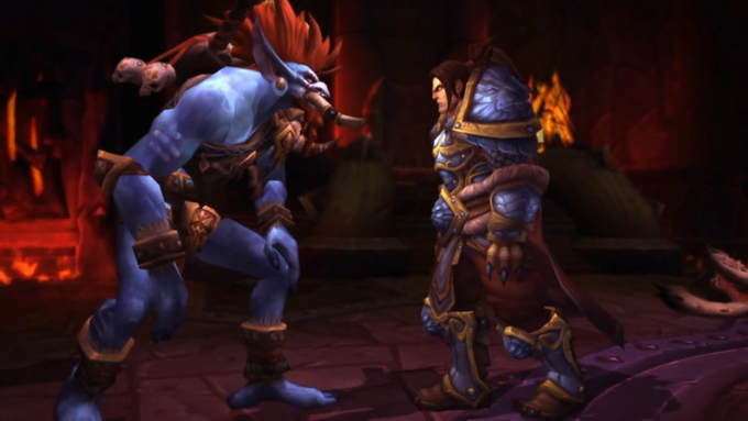 Warchief Vol'jin and King Varian Wrynn