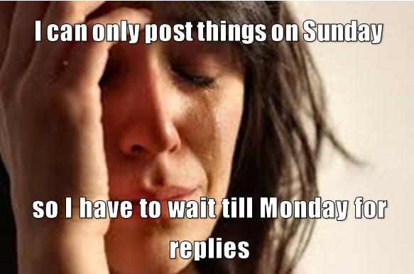 post on sunday