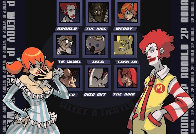 Fast Food Fighter: The Ultimate Order