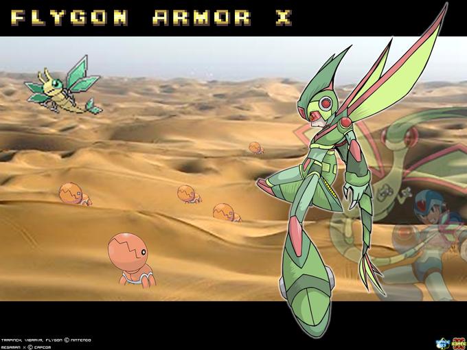 Flygon Armor X